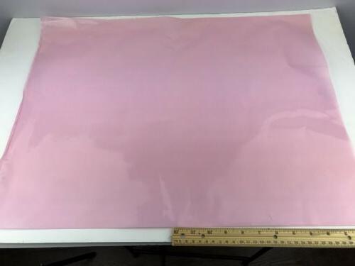 """Bauxko 18"""" Anti-Static 6-mil Flat Bags pink 50 NEW"""