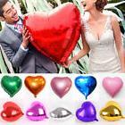 18Inch Heart Shape Helium Foil Balloons Wedding Birthday Fes