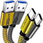 USB Nylon Braided Cord Cable Charger for Samsung Galaxy