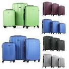 """20/24/28"""" Luggage Travel Set with 4 Wheels Bag Trolley Case"""