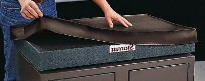 Starrett 24 Inch Long x 18 Inch Wide Vinyl Inspection Surfac