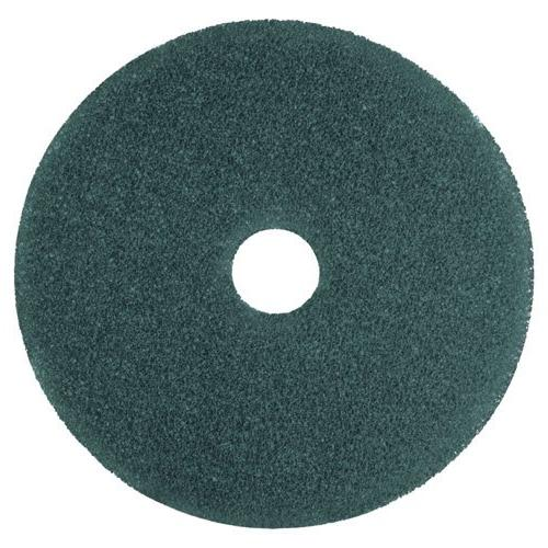 3M Low-Speed High Productivity Floor Pads 5300, 18-Inch, Blu