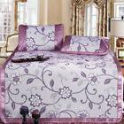 3Pcs/Set Ice Silk Foldable Cooling Summer Sleeping Mat Pillo