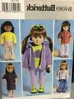 4089 18 inch girl dolls clothes sewing
