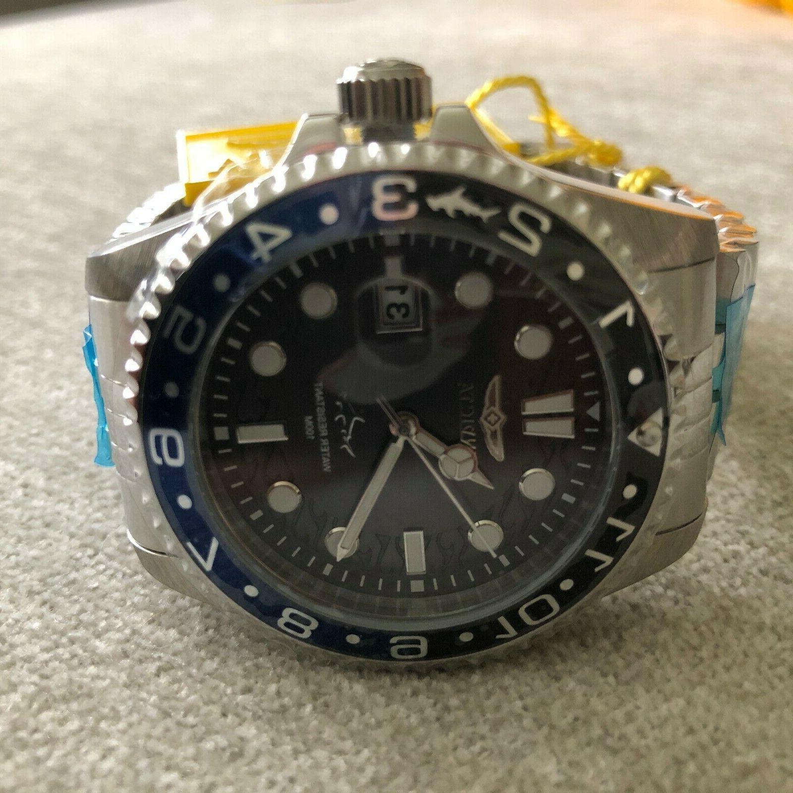 Invicta 43mm Pro Diver Master of the Oceans Quartz 30620