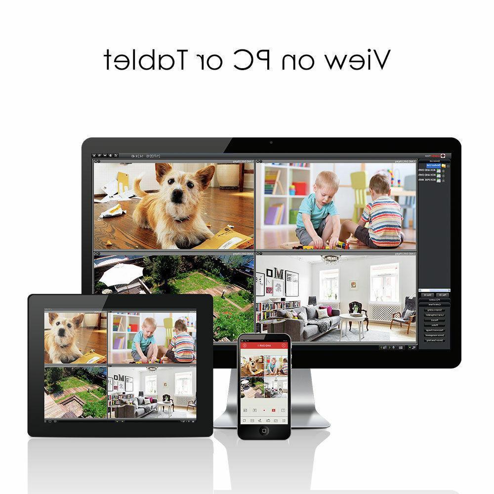 ZOSI 1080p 2MP Camera with Hard Drive 1TB