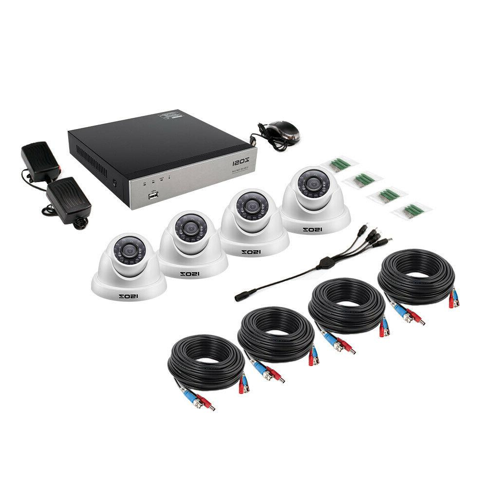 ZOSI 2MP Outdoor Security Camera Drive 1TB
