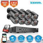 ANNKE 4CH/8CH 1080P HDMI DVR 1500TVL 720P TVI IR CUT Securit