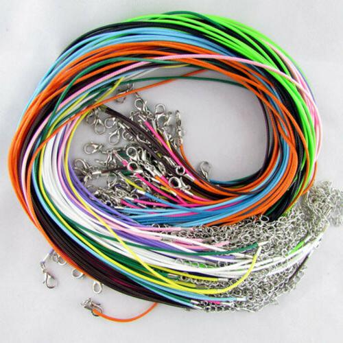 50pcs lot 18 inch suede leather string