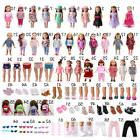 64 Styles Clothes Shoes Socks Bag Glasses for 18inch America