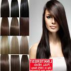 "7pcs 15"" 18"" 20"" 22"" Clip In Remy Real 100% Human Hair Exten"