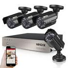 8 Channel 1080P DVR 720p Outdoor Home Surveillance Security