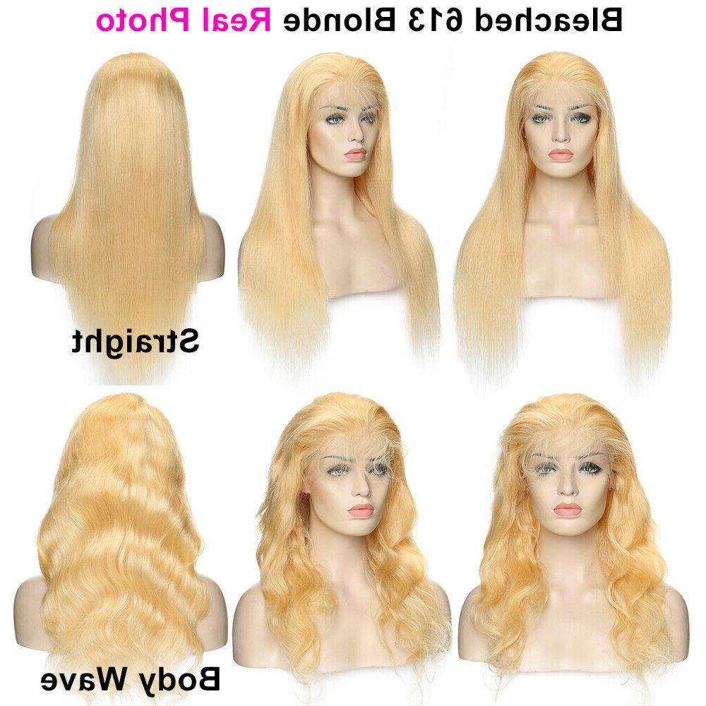 8A Brazilian Lace Front Wig Blonde Wigs