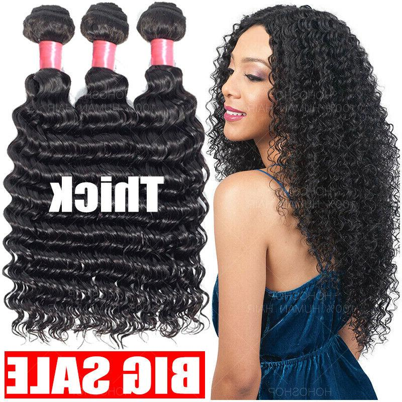 8a brazilian virgin human hair curly deep