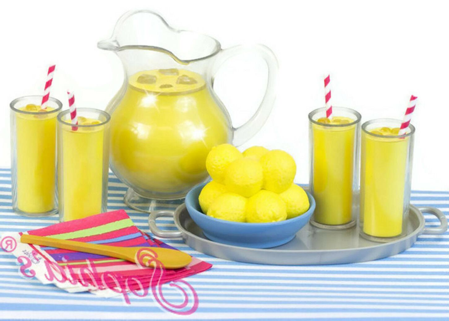 9 pc lemonade play set for 18
