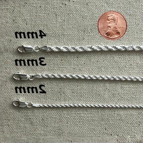 925 Silver real Italian Chain Mens