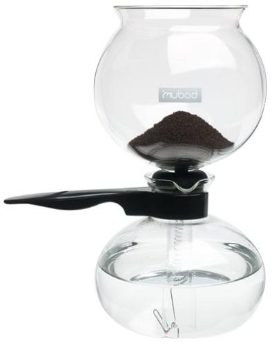 Bodum Vacuum Maker, Coffee Brewer,Slow Brew, Bold Flavor, Black, 8 cup, liter,