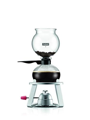 Bodum PEBO Maker, Vacuum Coffee Coffee Brew, Flavor, in Black, liter, 34
