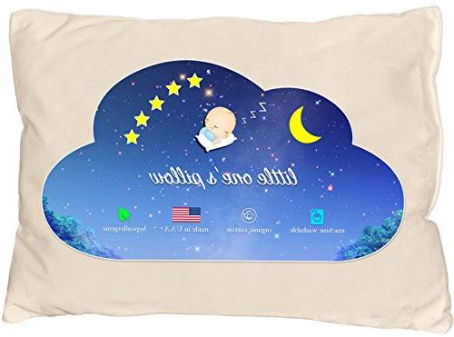 Little One's Pillow - Toddler Pillow, Delicate Organic Cotto