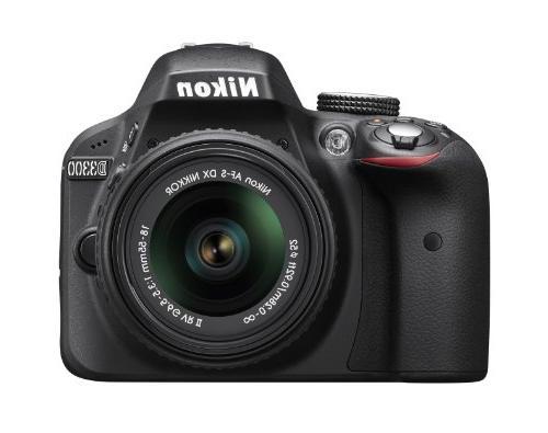 Nikon D3300 24.2 MP CMOS Digital SLR with Auto Focus-S DX NI