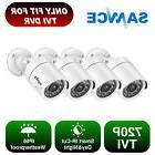 SANNCE 4 HD-TVI 720P Video 1500TVL IR-CUT CCTV 1.0MP Securit