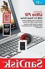 SanDisk 16GB Ultra Fit 16G CZ430 USB 3.1 Nano Flash Pen Driv