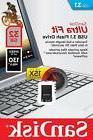 SanDisk 32GB 32G CZ430 Ultra Fit USB 3.1 Nano Flash Pen Driv