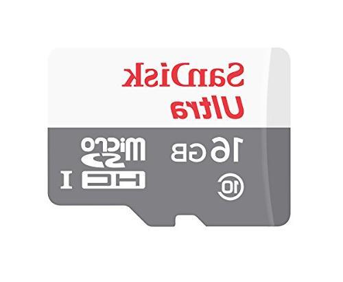 SanDisk Ultra SDSQUNB-016G-GN3MN 16GB 48MB/s UHS-I Class 10