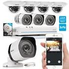 Zmodo 8CH 1080p HDMI NVR 720p Indoor/Outdoor Camera Home Sec