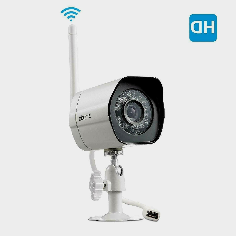 Zmodo ZM-W0007 720p HD Wireless Outdoor IP/Network, Plug/Pla