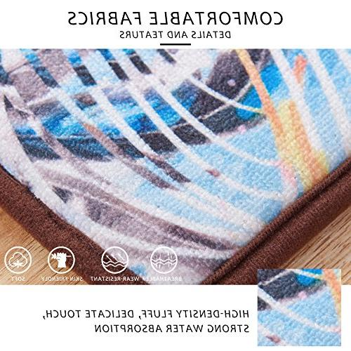 """CHUN Absorbs Indoor Printed Kitchen Dining Living Bathroom 30"""" Shoes Rug Carpet"""