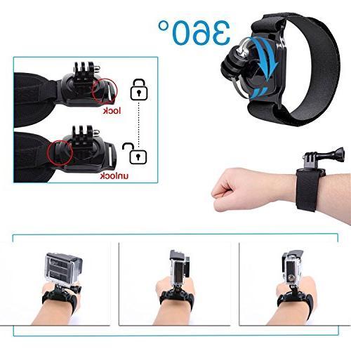 TEKCAM Camera Accessories Kit EK7000 Crosstour/Campark Camera
