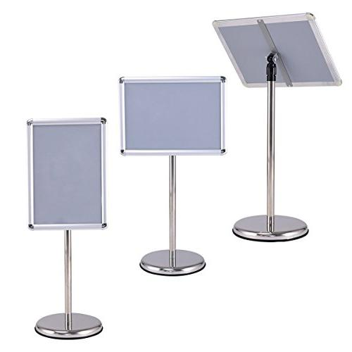 """lunanice Poster Stand Frame for 18"""" Graphics"""