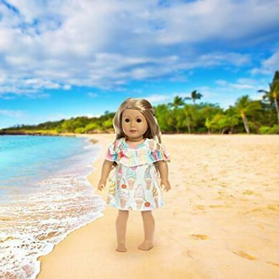 ZITA American Inch Girl Doll Outfits 5 Daily Costumes