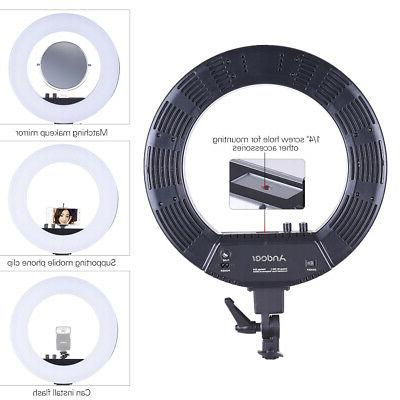 Andoer 18 Video Light Lamp Studio Lighting 50W 3200-5500K X3D6