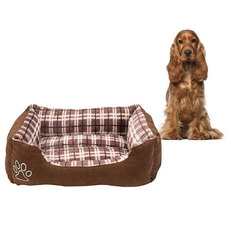 Animals Favorite Rectangle Bed, Checkered