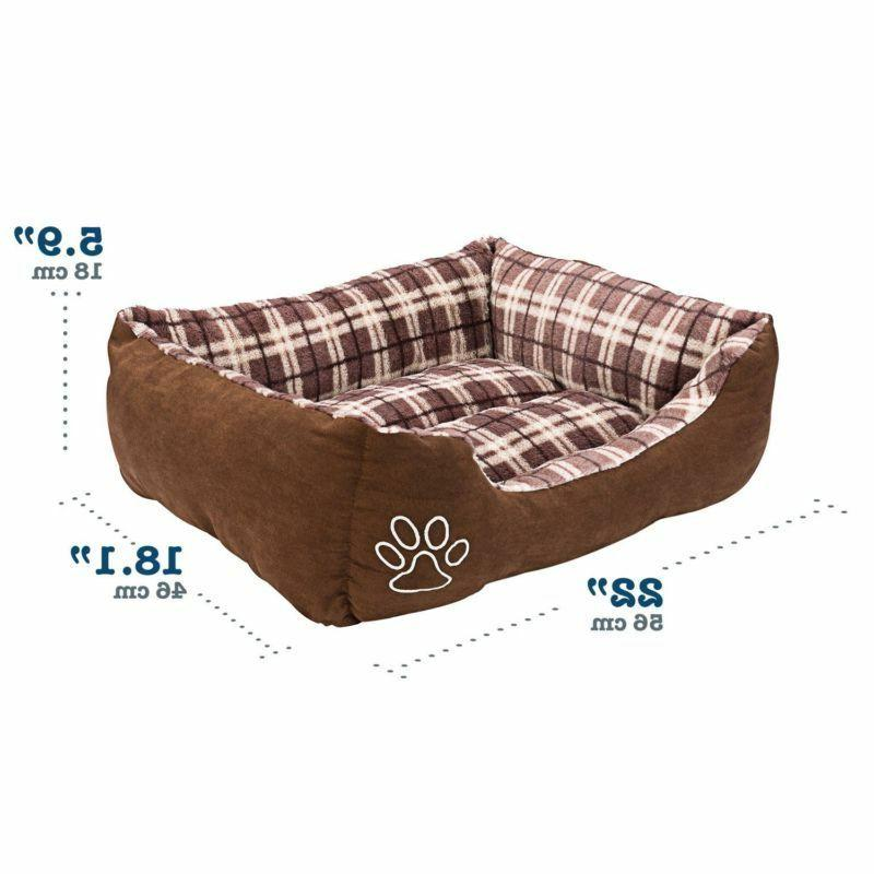 Animals Favorite Rectangle Pet Bed,