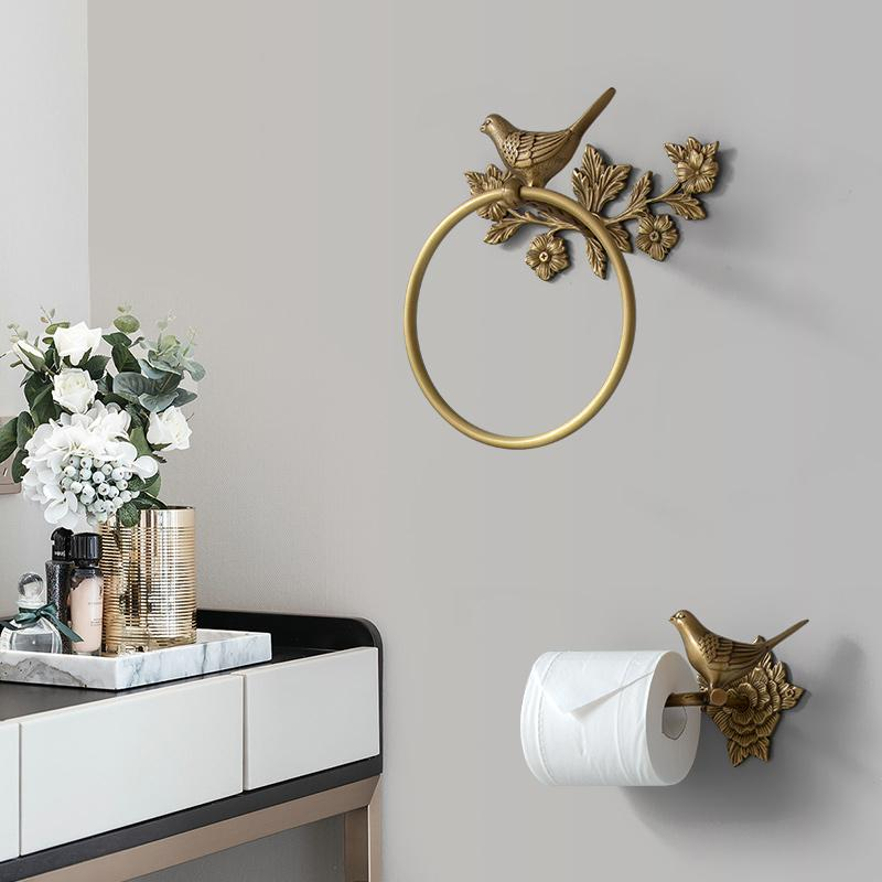 Carved Toilet Paper Holder Creative <font><b>Towel</b></font