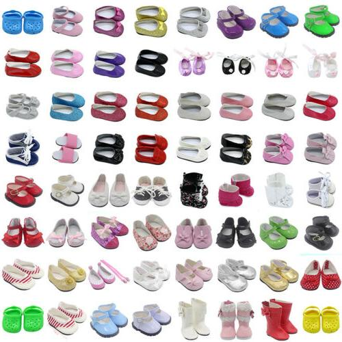 beautiful doll shoes fits 18 inch american