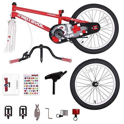 JOYSTAR Kids Bike for 5 Old Unisex with Kickstand,