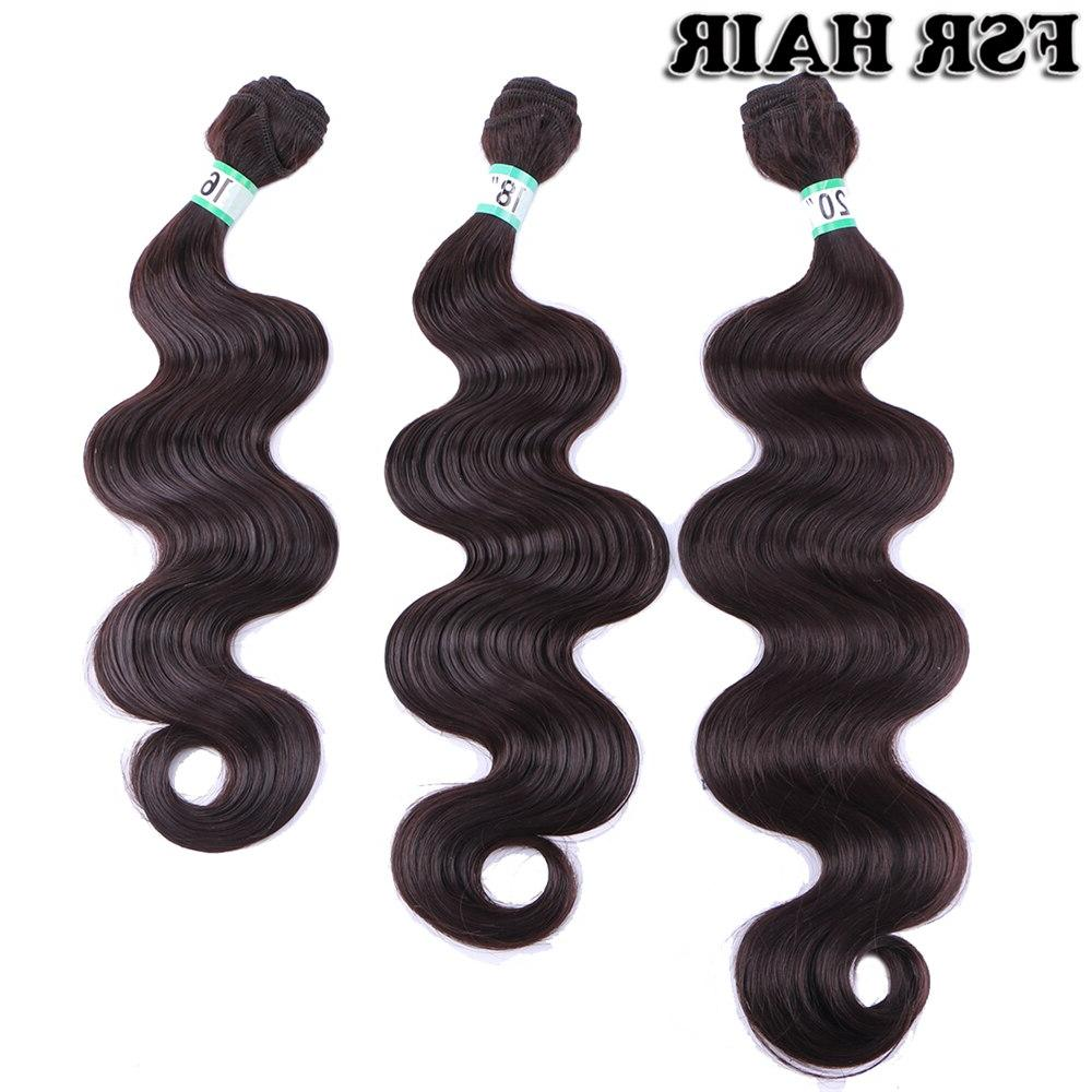 Black wave weaves <font><b>Inches</b></font> Piece Silvery hair extensions