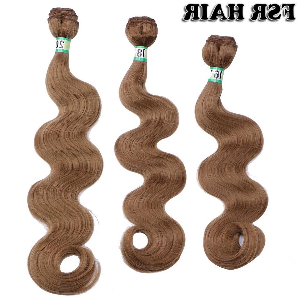 Black hair weaves <font><b>Inches</b></font> 70 Piece Golden hair