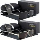 Black Polarized Aviator Men Glasses Outdoor Sports Eyewear D