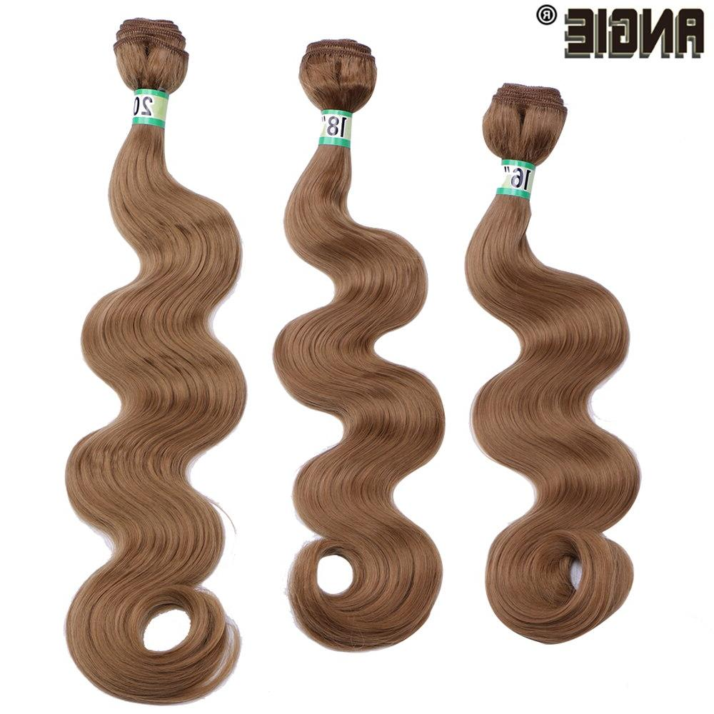 ANGIE Bundles Curly 16 20 <font><b>Inch</b></font> 70 Wavy Hair For Women