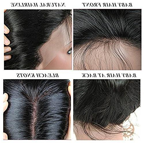 Younsolo Lace Wigs Virgin Remy Hair Body Wave Wigs with Hair For Black Free