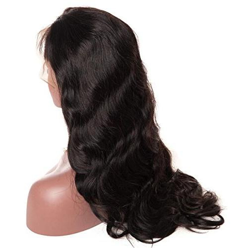 Younsolo Brazilian Wave Lace Front Wigs Remy Wave Hair Black Women Free Natural Color