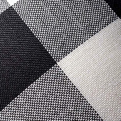 ANCIRS Plaid Cover,18 18 Classic Cushion Case, Sofa Pillowcase 100% for Body