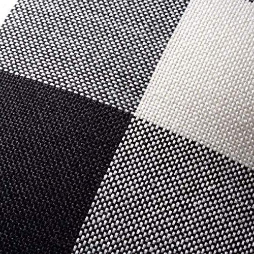 Plaid Cover,18 Classic Retro Checkered Cushion Pillowcase Cotton for