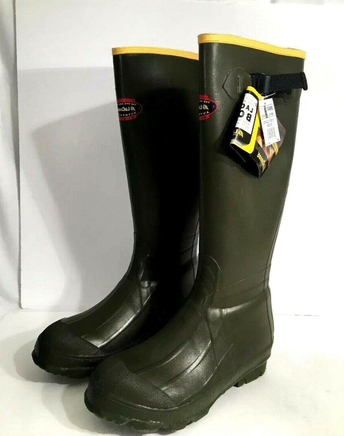"LaCrosse Men's 18"" Burly Classic Hunting Boot,OD Green,9 M U"