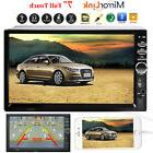 """Car Stereo Radio Bluetooth Audio Receiver Double 2 Din 7"""" To"""